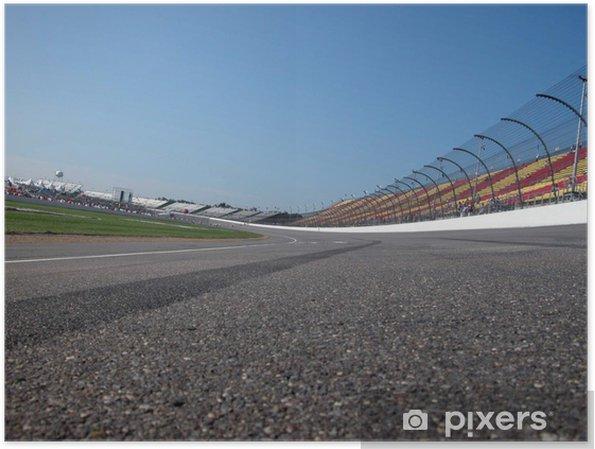 Plakat Racetrack - Sporty ekstremalne