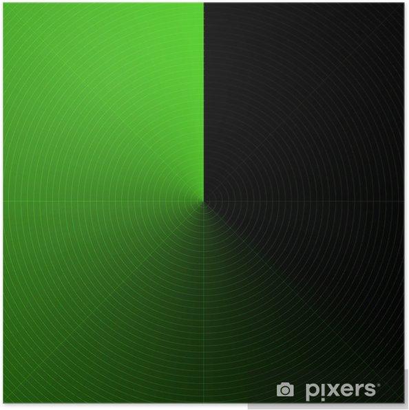 Plakát Radar Abstrait - Abstraktní