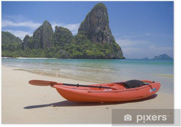 Plakat Railey Beach - Ao Nang - Krabi - Tajlandia - Azja