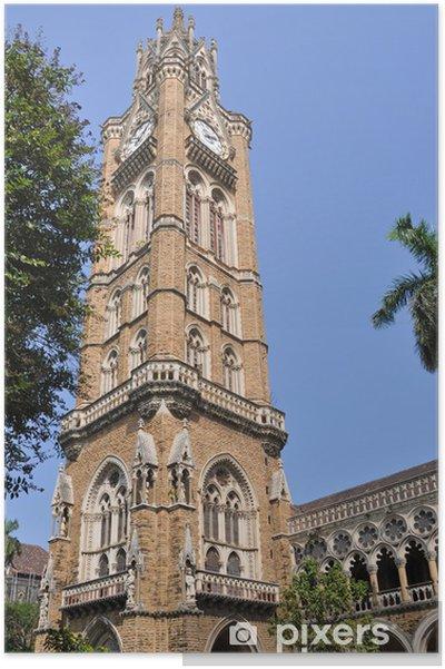Plakat Rajabai Clock Tower, Mumbai - Azja