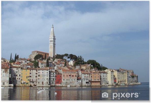 Plakat Rano w Rovinj, Istria, Chorwacja - Europa
