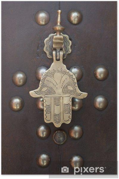 Plakat Ręcznie doorknocker Metal Faitima - Dom i ogród