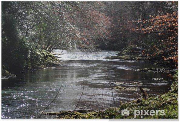 Plakát Řeka Dart - Voda