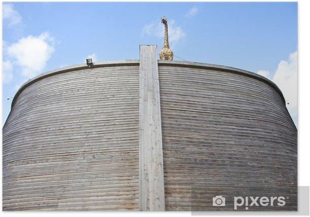 Plakát Replika archa Noah v Nizozemsku - Lodě