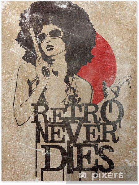 Plakát Retro nikdy neumírá! - Pozadí