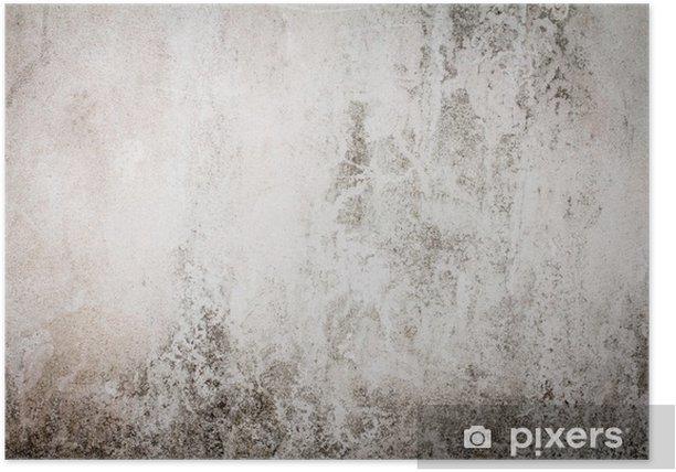 Plakat Retro odcień koloru Dirty betonowej ścianie w tle - Tematy