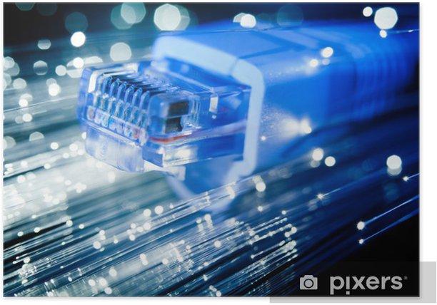 Plakát RJ45 konektor adsl - Sítě a internet