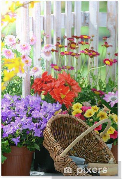 Plakat Romance Garden - Dom i ogród