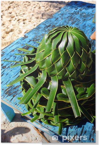 Plakat Roślin pleciony kapelusz - Sklepy
