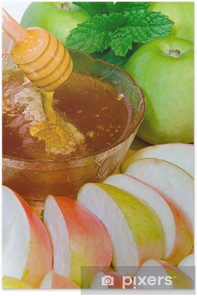 Plakat Rosz Haszana - Posiłki