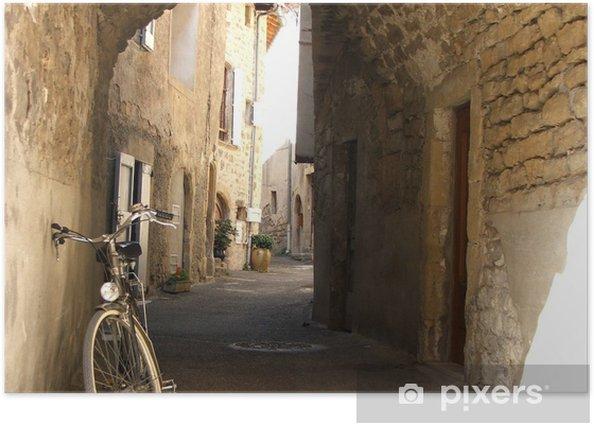 Plakat Rower we Francji - Wakacje
