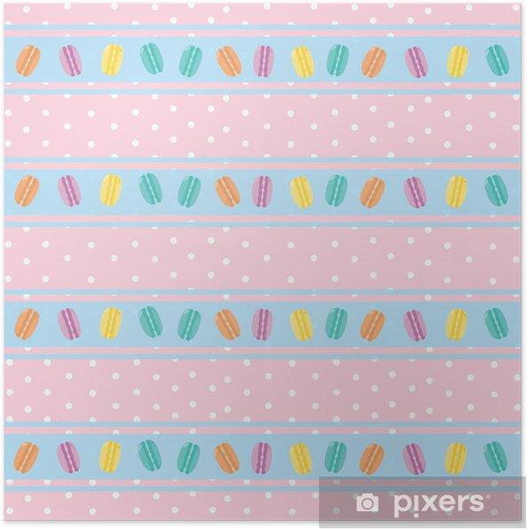 Plakat Różowe tapety - Tła