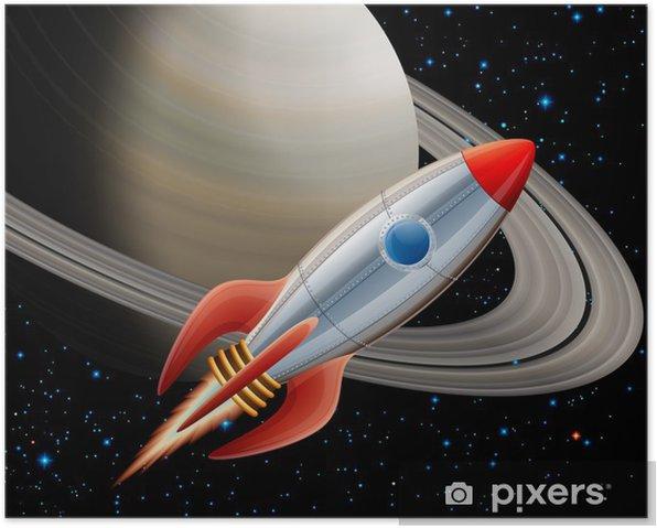 Plakat Rpcket w przestrzeni - Tematy