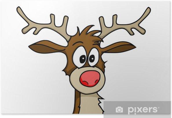 Plakat Rudolph - Święta międzynarodowe