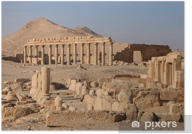 Plakat Ruiny Palmyra - Bliski Wschód