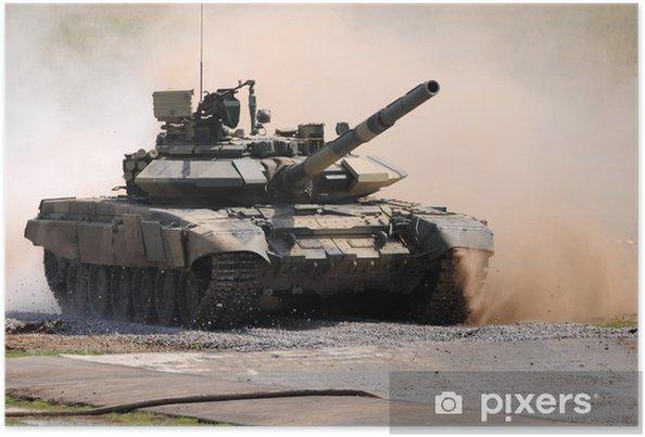 Plakát Ruský tank Т-90SМ - Témata