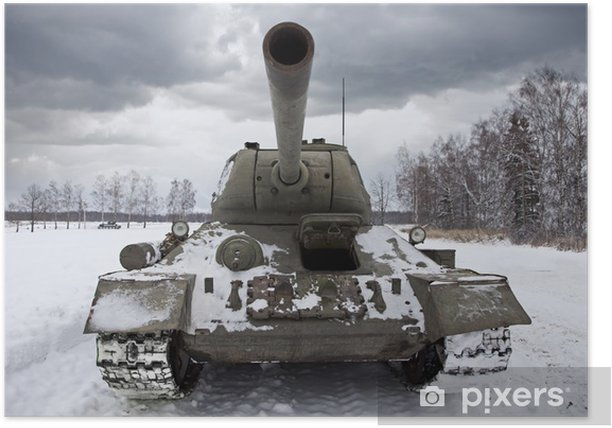 Plakat Russian Tank T34 - Tematy