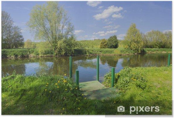Plakat Rzeka avon - Europa