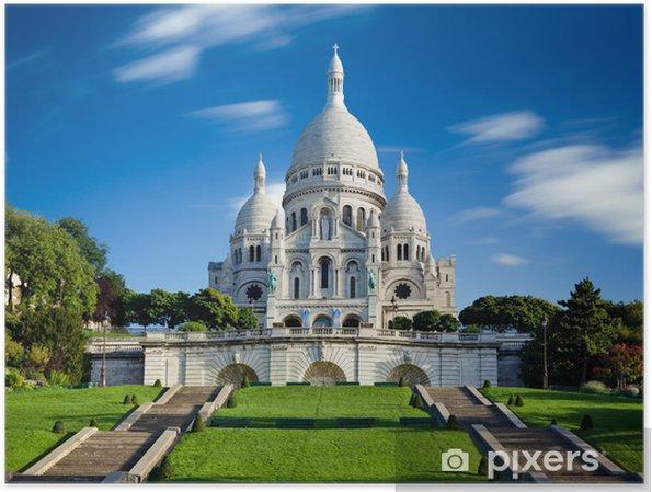 Plakát Sacre Coeur Montmartre Paris France - Témata