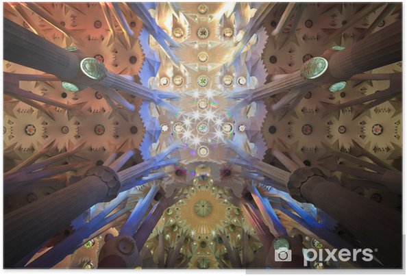 Plakat Sagrada Familia - Zabytki