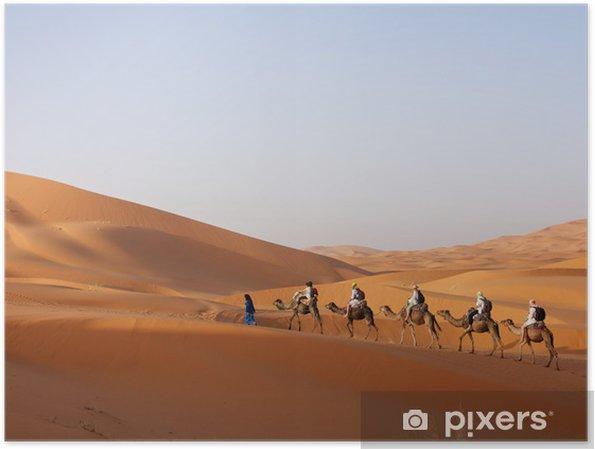 Plakát Sahara - Maroko