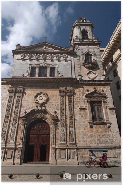 Plakát Saint Francis de Paul Church v Havaně na Kubě - Témata