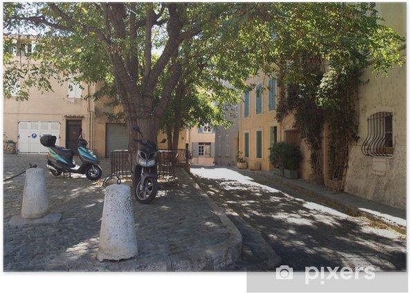 Plakat Saint-Tropez Strret. - Europa
