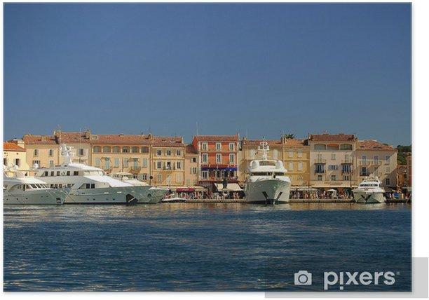 Plakát Saint Tropez - Evropa