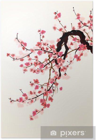 Plakat Sakura - Style