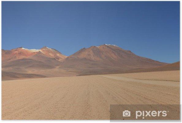 Plakat Salvador Dali Pustynia Boliwia