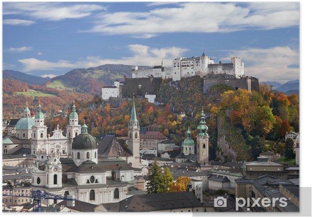 Plakat Salzburg, Austria - Europa