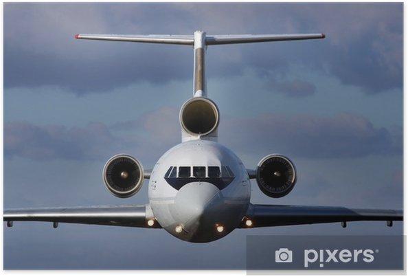 Plakat Samolot w locie - iStaging