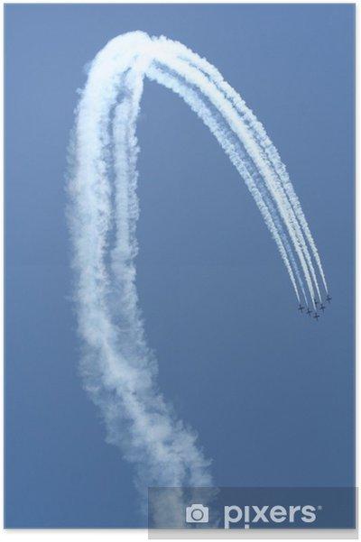 Plakat Samolot - Transport powietrzny
