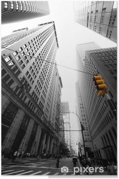 Plakat samoprzylepny Aleja nowa yorkaise -