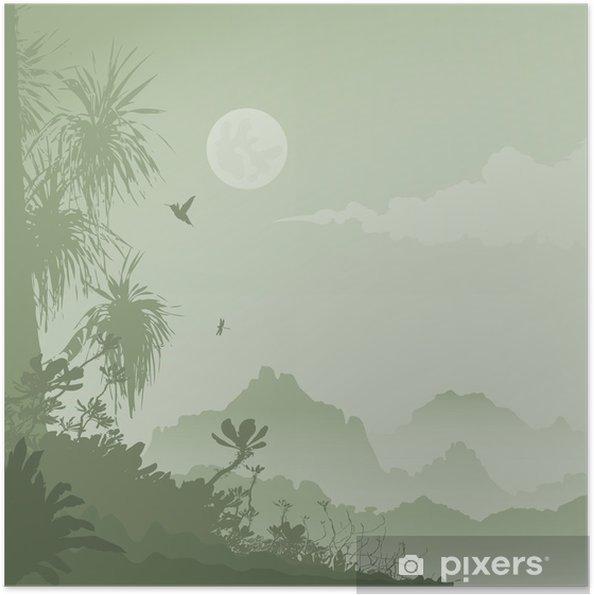 Plakat samoprzylepny Dżungla - Tematy