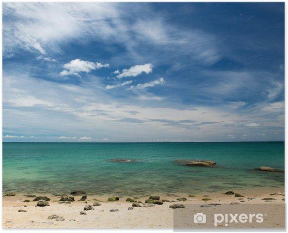 Plakat samoprzylepny Morze - Woda
