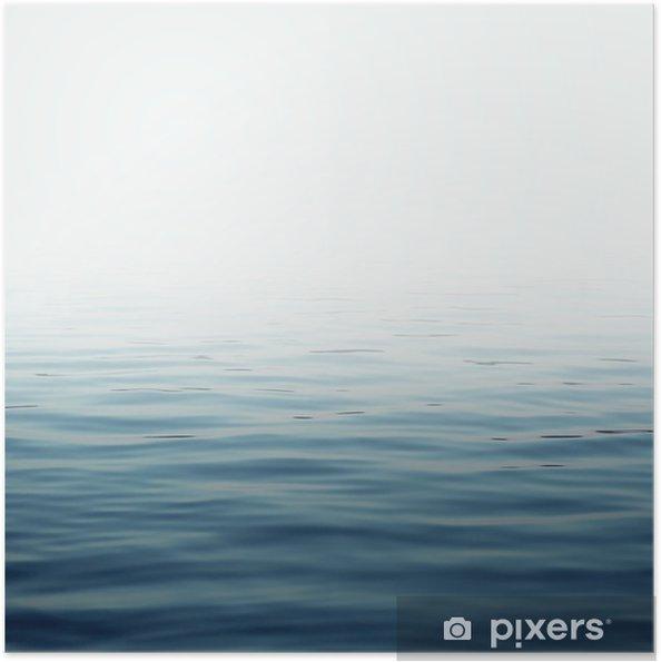 Plakat samoprzylepny Powierzchni wody - Krajobrazy