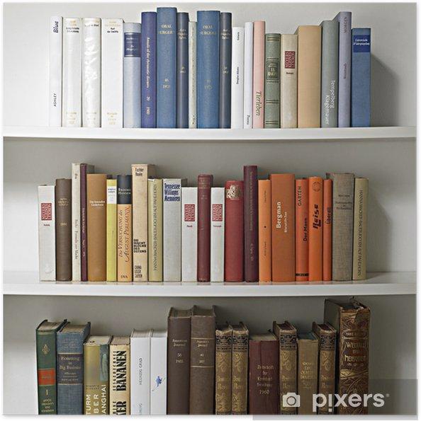 Plakat samoprzylepny Regał 01 - Biblioteczka