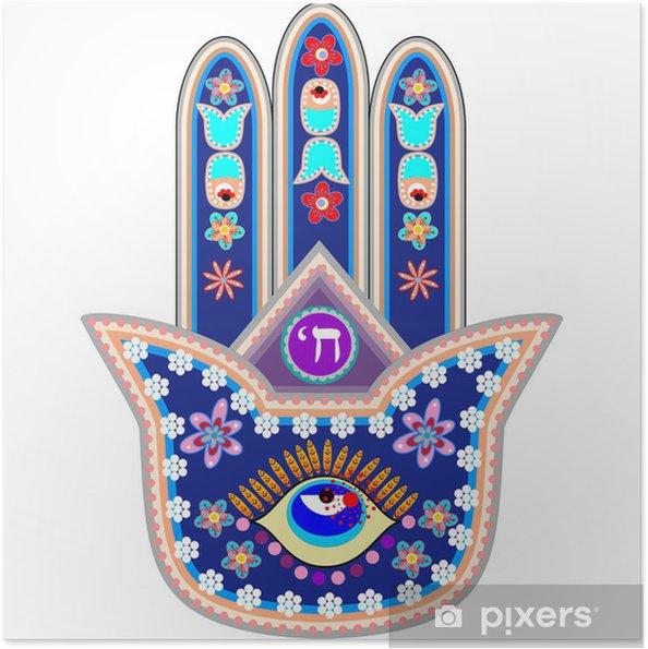 Plakat samoprzylepny Ręka Fatimy - Religie