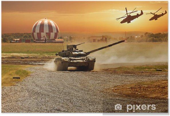 Plakat samoprzylepny Wojna - Tematy