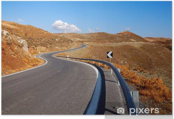 Plakat Samotny szlak - Infrastruktura