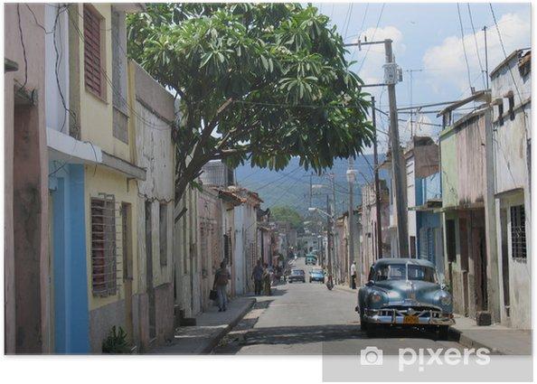 Plakat Santiago de Cuba - iStaging