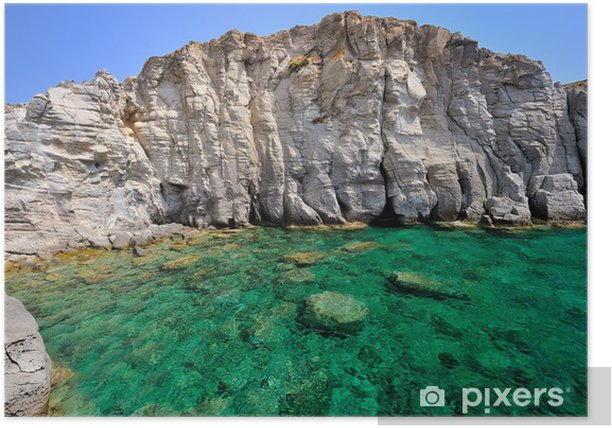 Plakat Sardynia Sea Island Sant 'Antioco - Cala Sapone - Wakacje