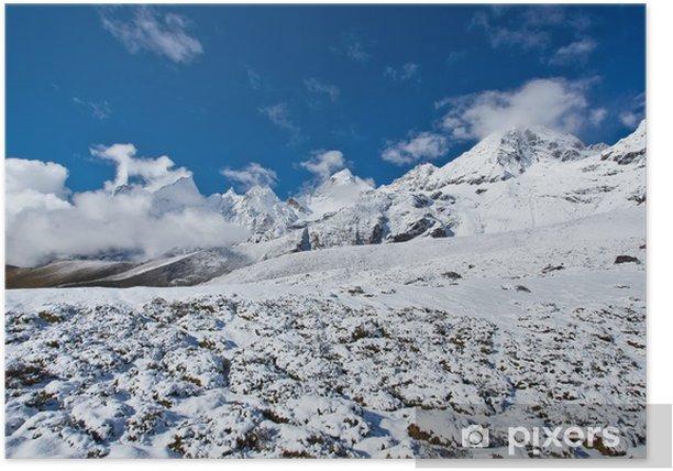 Plakat Scenic widok na Himalaje - Tematy
