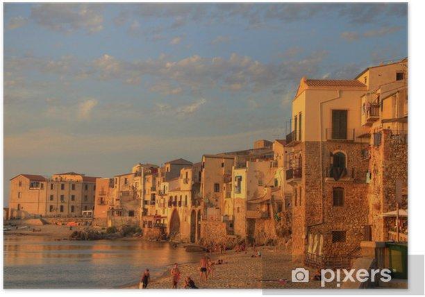 Plakát Scény Sicílie - Evropa