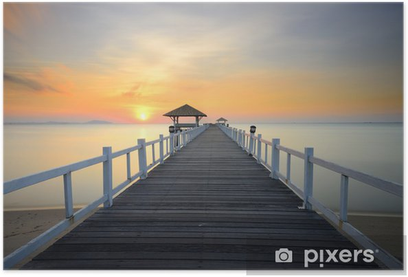 Plakat Ścieżka na plaży - Natura i dzicz