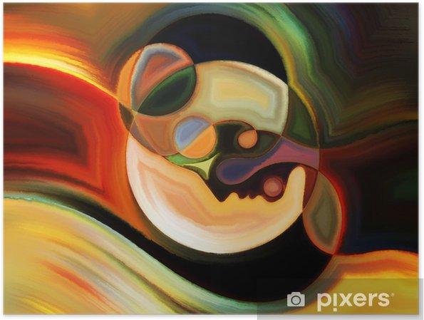 Plakat Ścieżki Farba Wewnętrzna - Sztuka i twórczość