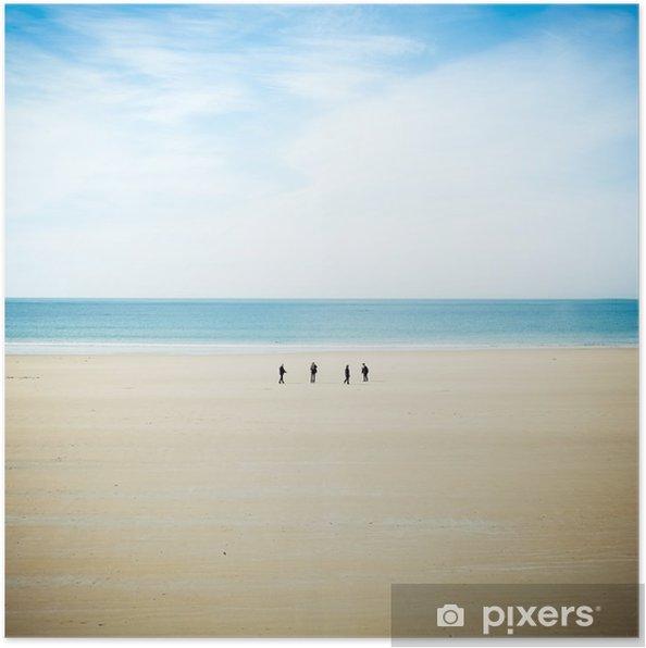 Plakat Seaside-Jersey - Krajobrazy