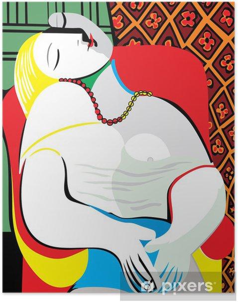 Plakat Sen Pablo Picasso - Do gabinetu