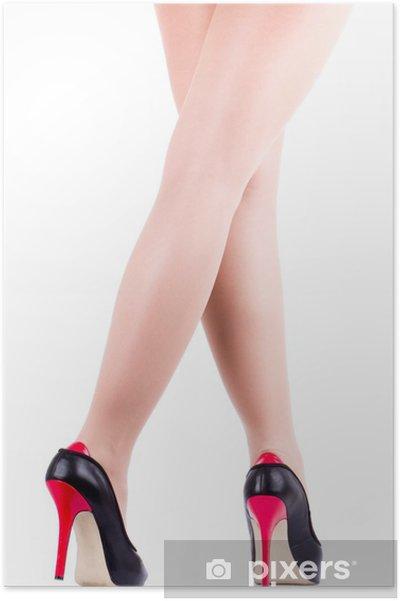 bfb6d0b9 Plakat Sexy babski nogi w bucie samodzielnie • Pixers® - Żyjemy by ...
